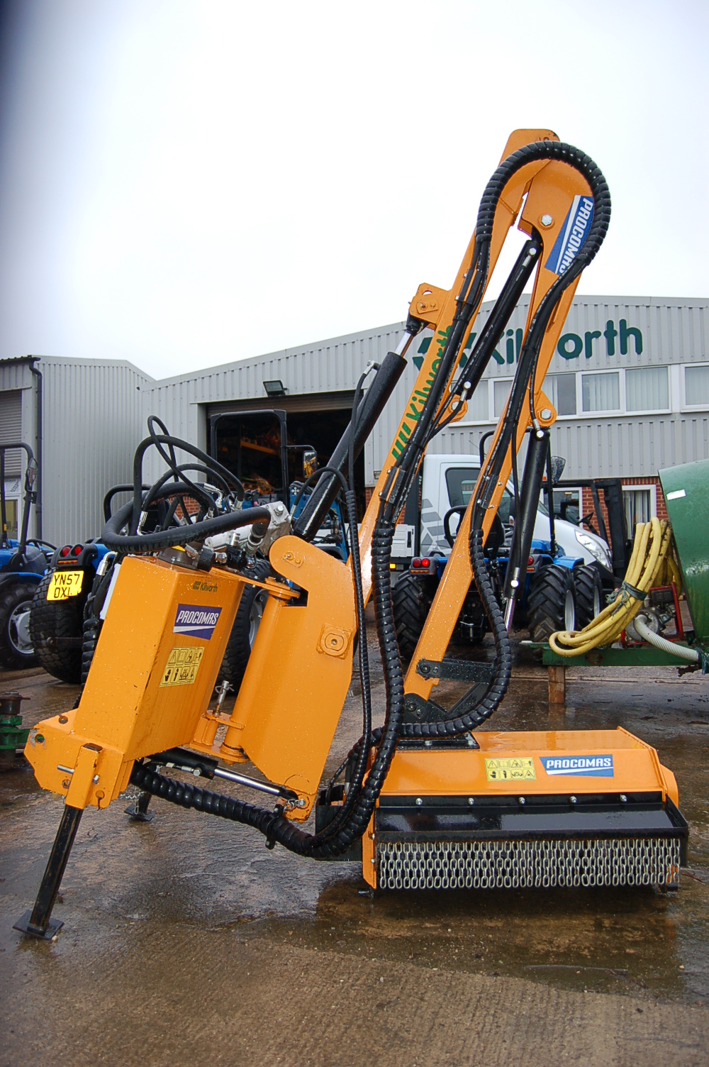 Ex Demonstration Bs82 Side Arm Flail Mower Sold Kilworth