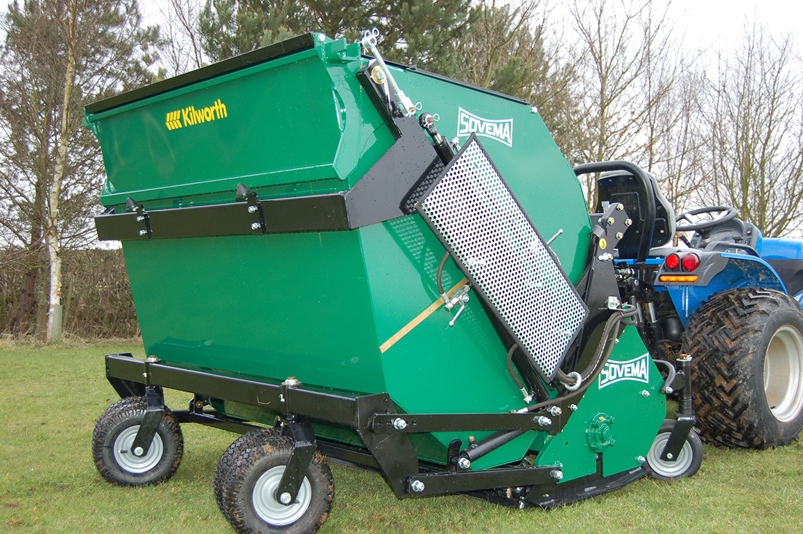 Sovema TRIS Flail/Scarifier with collection – Kilworth