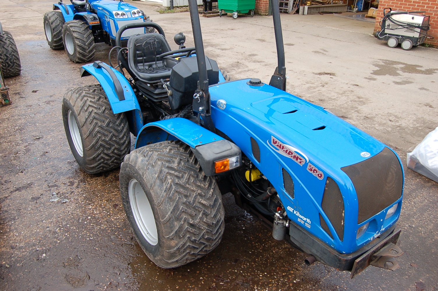 Used Bcs Valiant 500 Rs Reversible Tractor Kilworth